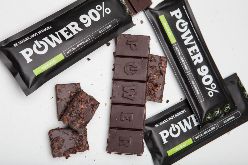 Power choco bar 90% čokoláda